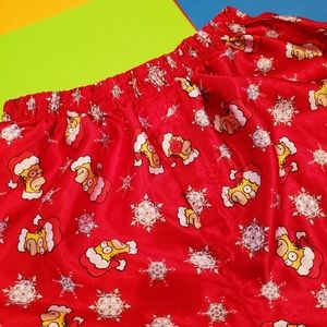 The Simpsons christmas boxer
